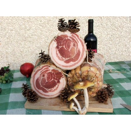 Pancetta coppata noceto - Lucana Salumi