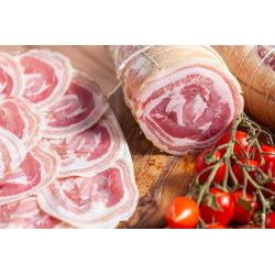 Pancetta arrotolata - Lusetti